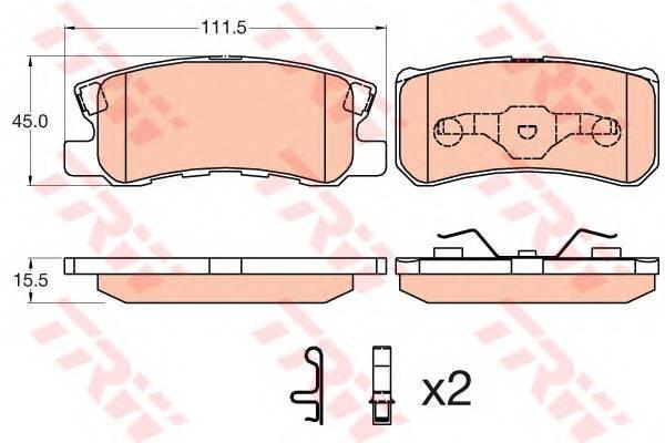 TRW GDB3595