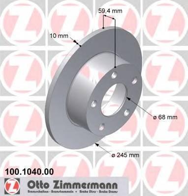 ZIMMERMANN 100104000