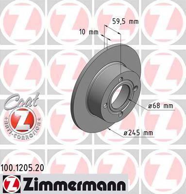 ZIMMERMANN 100120520