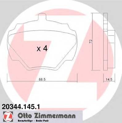 ZIMMERMANN 203441451