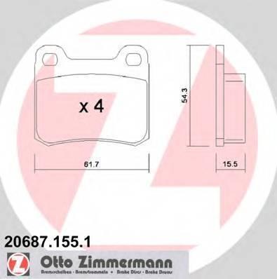 ZIMMERMANN 20687.155.1