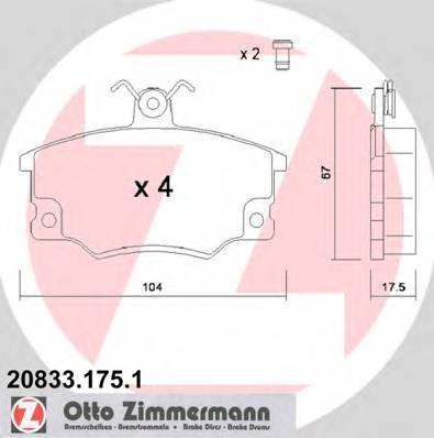ZIMMERMANN 20833.175.1