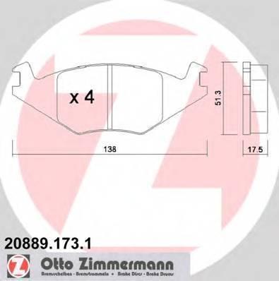 ZIMMERMANN 20889.173.1