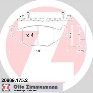 ZIMMERMANN 20889.175.2