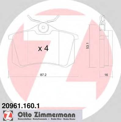 ZIMMERMANN 20961.160.1