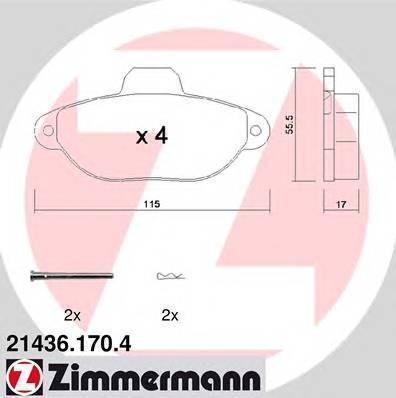ZIMMERMANN 21436.170.4