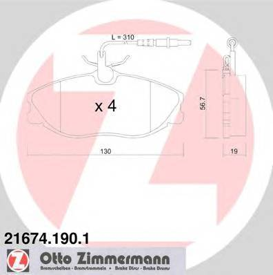 ZIMMERMANN 21674.190.1