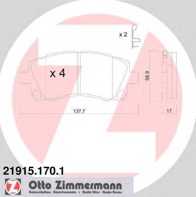 ZIMMERMANN 21915.170.1