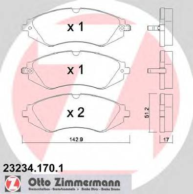 ZIMMERMANN 23234.170.1