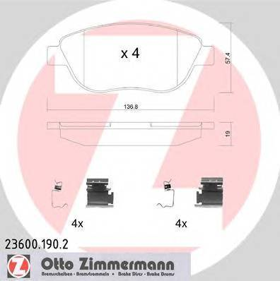 ZIMMERMANN 23600.190.2
