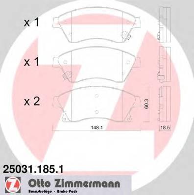 ZIMMERMANN 25031.185.1